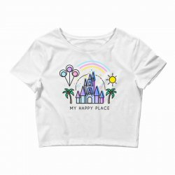happiest castle on earth Crop Top | Artistshot