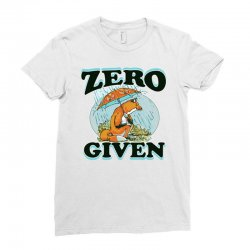 zero fox given new Ladies Fitted T-Shirt | Artistshot