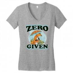 zero fox given new Women's V-Neck T-Shirt | Artistshot