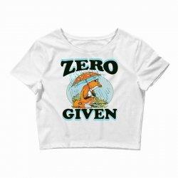 zero fox given new Crop Top | Artistshot