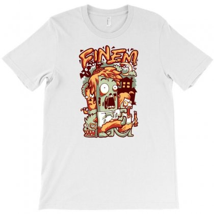 Zombie T-shirt Designed By Daudart