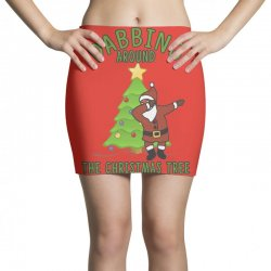 dabbing santa Mini Skirts | Artistshot