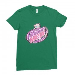 mountain mew Ladies Fitted T-Shirt | Artistshot