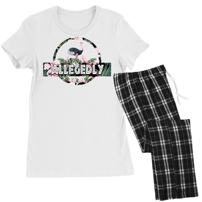 Allegedly Women's Pajamas Set   Artistshot