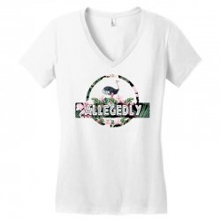 allegedly Women's V-Neck T-Shirt | Artistshot