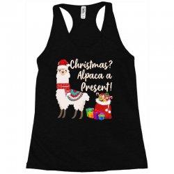 christmas alpaca a present Racerback Tank | Artistshot