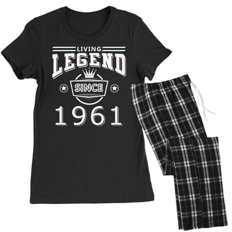 Living Legend Since 1961 Women's Pajamas Set   Artistshot