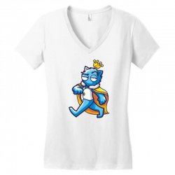 zyapa the cat 2 b Women's V-Neck T-Shirt | Artistshot