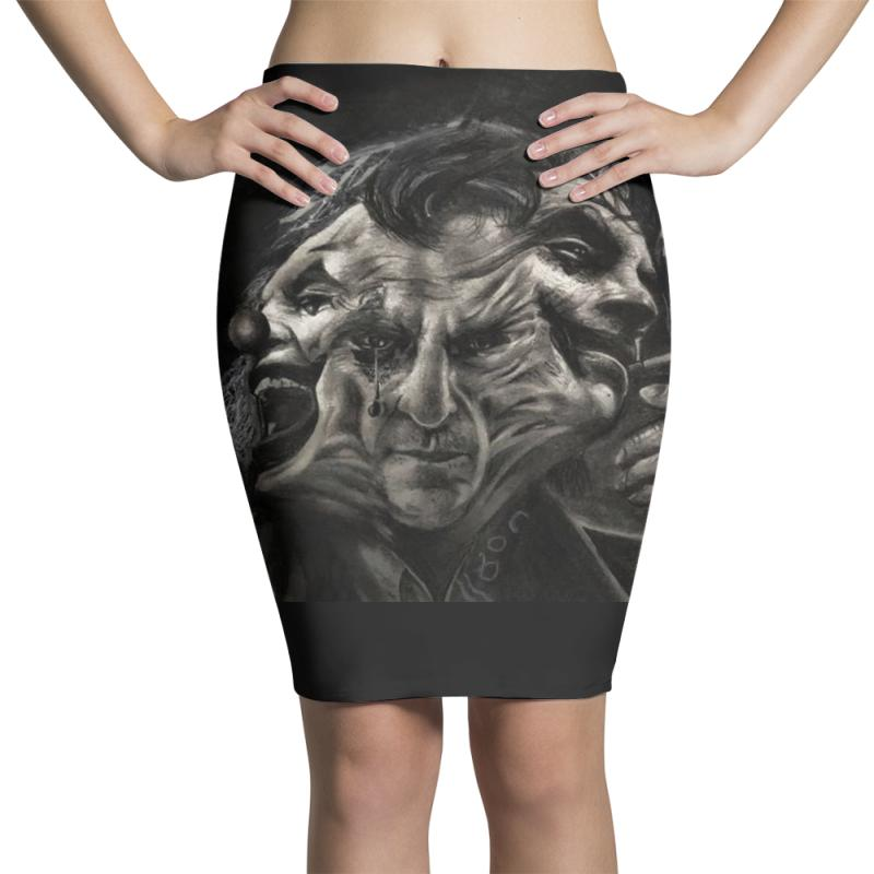 Joker(the Creative Combination Of Heath And Sorrow) Pencil Skirts | Artistshot