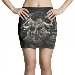 Joker(the creative combination of heath and sorrow) Mini Skirts | Artistshot