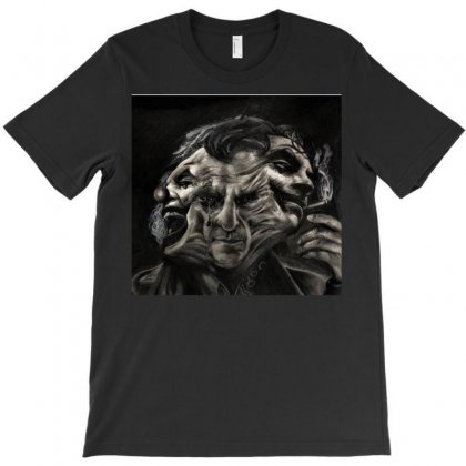 Joker(the Creative Combination Of Heath And Sorrow) T-shirt Designed By Trendy Boy