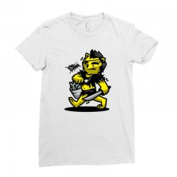 zyapa the cat 4 b Ladies Fitted T-Shirt   Artistshot