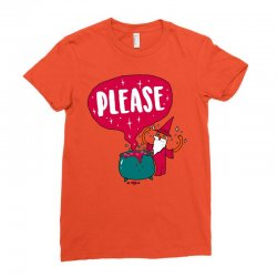 the magic word Ladies Fitted T-Shirt   Artistshot