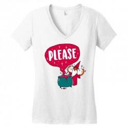the magic word Women's V-Neck T-Shirt   Artistshot