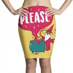 the magic word Pencil Skirts   Artistshot