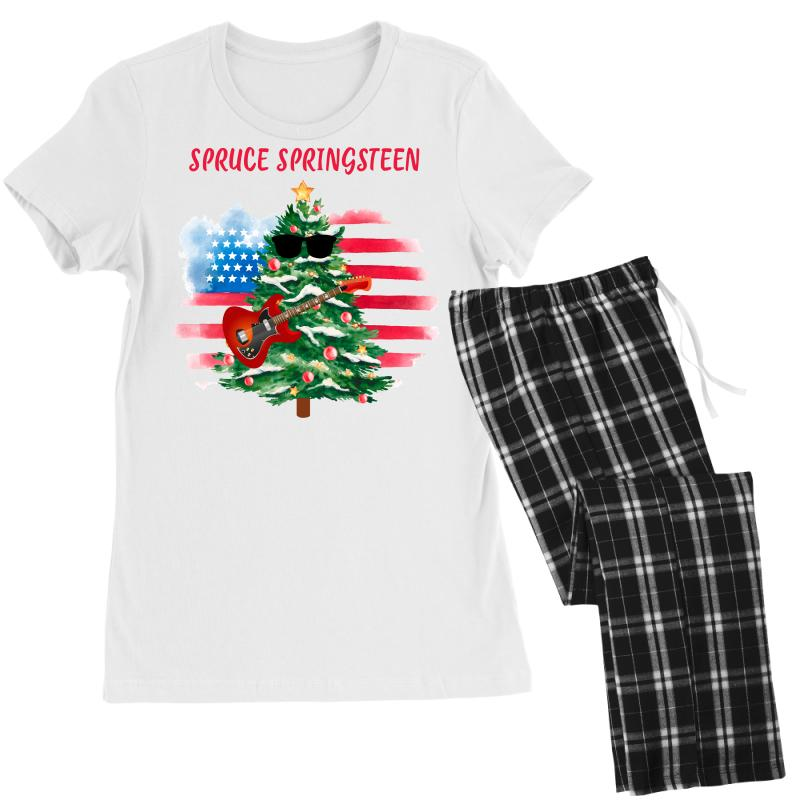 Spruce Springsteen Women's Pajamas Set | Artistshot