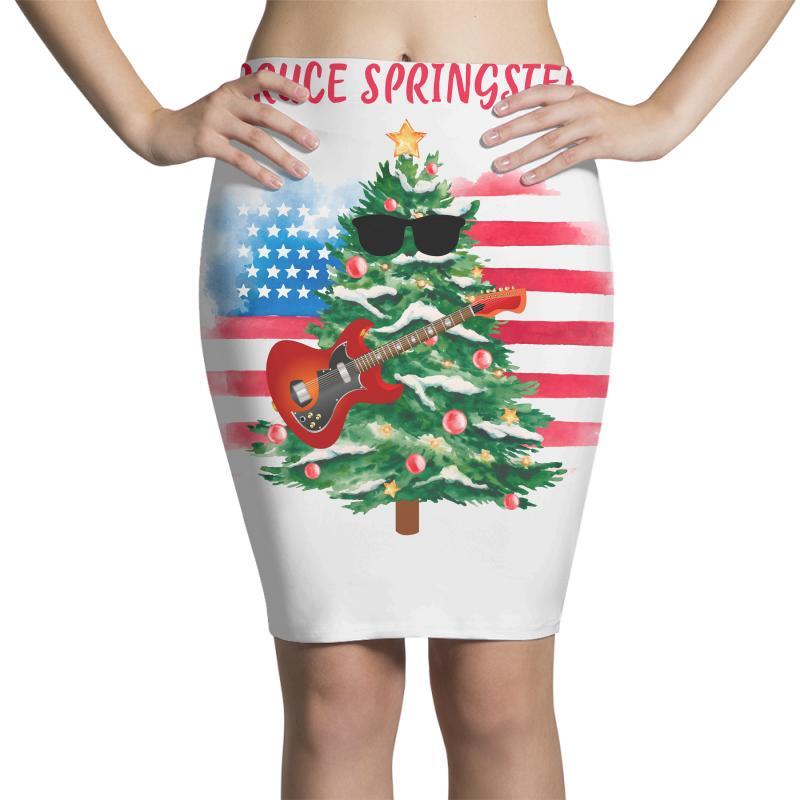 Spruce Springsteen Pencil Skirts | Artistshot