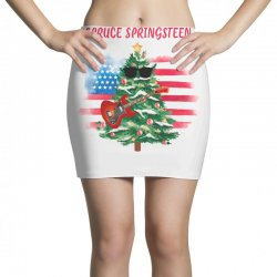 Spruce Springsteen Mini Skirts | Artistshot