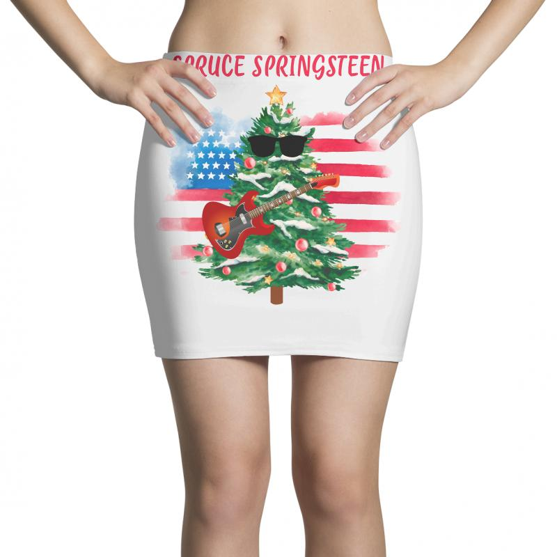 Spruce Springsteen Mini Skirts | Artistshot