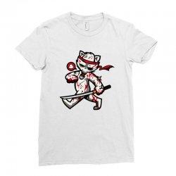 zyapa the cat 8 b Ladies Fitted T-Shirt | Artistshot
