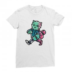 zyapa the cat 9 a Ladies Fitted T-Shirt | Artistshot