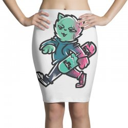 zyapa the cat 9 a Pencil Skirts | Artistshot
