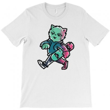 Zyapa The Cat 9 A T-shirt Designed By Daudart