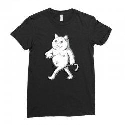 zyapa the cat 9 b Ladies Fitted T-Shirt | Artistshot