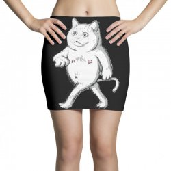 zyapa the cat 9 b Mini Skirts | Artistshot