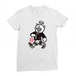 zyapa the cat 10 b Ladies Fitted T-Shirt | Artistshot