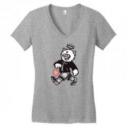 zyapa the cat 10 b Women's V-Neck T-Shirt | Artistshot