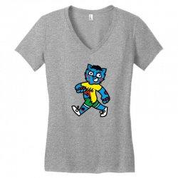 zyapa the cat 13 a Women's V-Neck T-Shirt | Artistshot