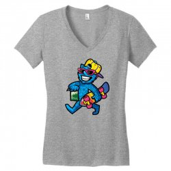 zyapa the cat 13 b Women's V-Neck T-Shirt | Artistshot