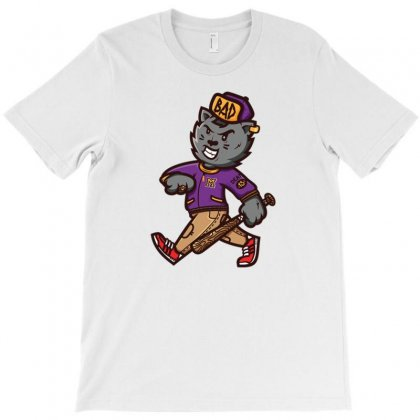 Zyapa The Cat 14 B T-shirt Designed By Daudart