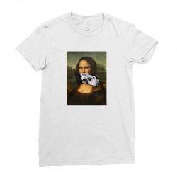 cool mona Ladies Fitted T-Shirt   Artistshot