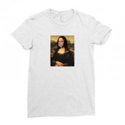 mona bubble gum Ladies Fitted T-Shirt   Artistshot
