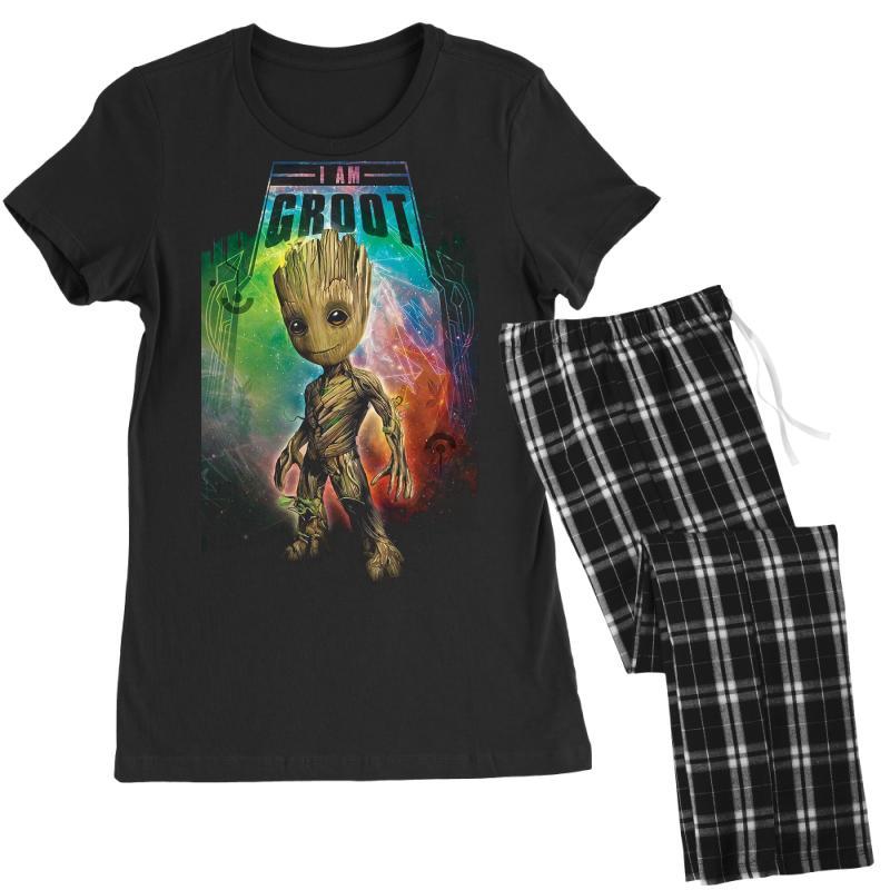 I Am Groot Baby Groot Gurdian Of The Galaxy Women's Pajamas Set | Artistshot