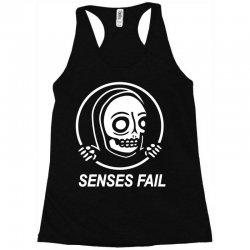 senses fail  graveyard Racerback Tank   Artistshot