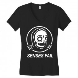 senses fail  graveyard Women's V-Neck T-Shirt   Artistshot