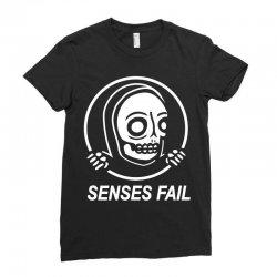 senses fail  graveyard Ladies Fitted T-Shirt   Artistshot