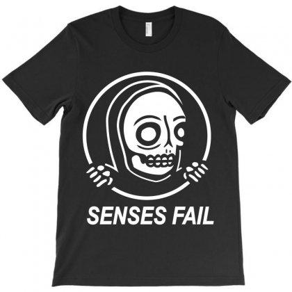 Senses Fail  Graveyard T-shirt Designed By Pujangga45