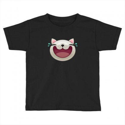 Expression   Happy Cat Toddler T-shirt Designed By B4en1