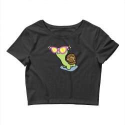 fabulous turtle Crop Top | Artistshot