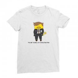 feline bureau of investigation Ladies Fitted T-Shirt | Artistshot