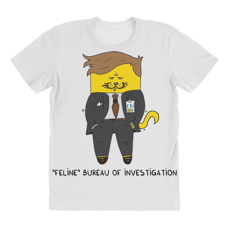 Feline Bureau Of Investigation All Over Women's T-shirt | Artistshot