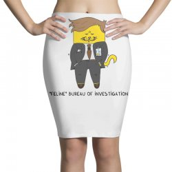 feline bureau of investigation Pencil Skirts | Artistshot