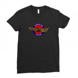 flying tank battalion Ladies Fitted T-Shirt | Artistshot