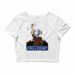 freedom! Crop Top | Artistshot