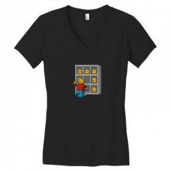 friday face Women's V-Neck T-Shirt | Artistshot