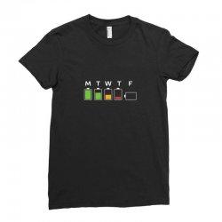 fridays suck so much tgif Ladies Fitted T-Shirt | Artistshot